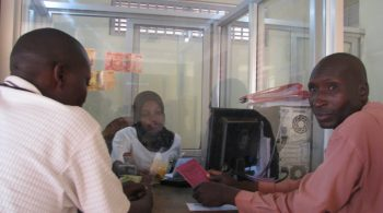 Members-of-Bugadde-SACCO-at-the-counter-receiving-services